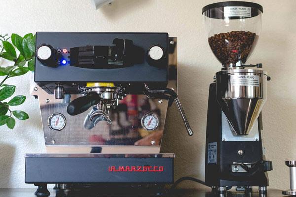Early Bird Phx.'s La Marsocco espresso machine.