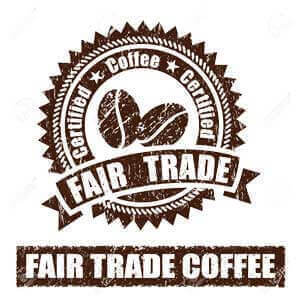 We support fair-trade coffee from Brazil